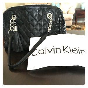 Calvin Klein quilted handbag